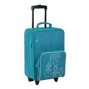 Chariot Casuel Amis valise chiné, 46 cm, 3,25 L, Bleu de la marque Lässig image 0 produit