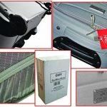 Chariot Valise en polyester semi-rigide cabine taille Italian brand GMV CABIN SIZE RYANAIR EASYJET LOW COST de la marque GIANMARCO VENTURI GMV image 3 produit