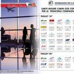 Chariot Valise en polyester semi-rigide cabine taille Italian brand GMV RYANAIR EASYJET LOW COST de la marque GIANMARCO VENTURI image 4 produit