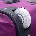 CHENGYANG Sac de voyage à roulette bagage à main 2 roulettes Valise Trolley Légère Sacoche de cabine de la marque CHENGYANG image 6 produit