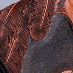 CNFIP Hommes Cuir Porte-monnaie / Emirates Aigle Cowhide 19,5 × 9 × 2.5cm de la marque CNFIP image 3 produit