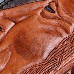CNFIP Hommes Cuir Porte-monnaie / Emirates Aigle Cowhide 19,5 × 9 × 2.5cm de la marque CNFIP image 4 produit
