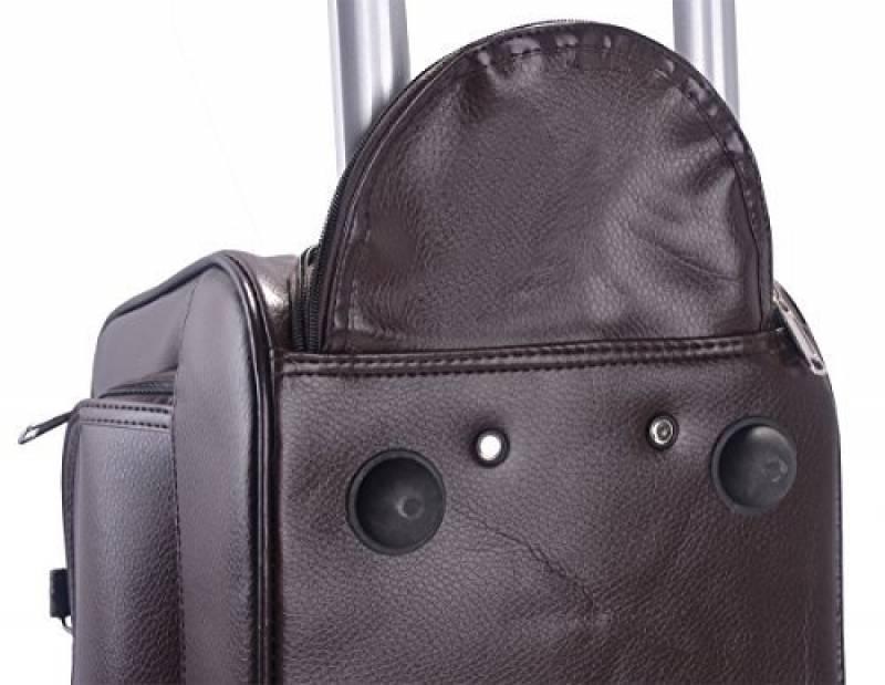 a7b8d0f802 Sac voyage cuir roulette : le top 9 pour 2019 - Top Bagages
