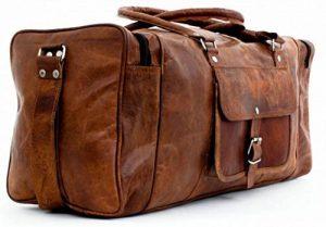 Cool Stuff Grand Sac Fourre-tout en cuir sac de voyage sac week-end Cabine Nuit Sport Sac fourre-tout de la marque COOL STUFF image 0 produit