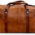 Cool Stuff Grand Sac Fourre-tout en cuir sac de voyage sac week-end Cabine Nuit Sport Sac fourre-tout de la marque COOL STUFF image 2 produit