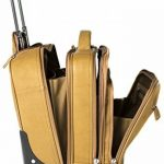 Cortez - Bagage à roulettes taille cabine - housse d'ordinateur portable amovible - cuir de Colombie - marron foncé de la marque Cortez image 2 produit