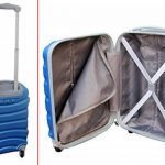 COUPLE CHARIOT CABINE VALISE HAND DUR BAGAGES GIANMARCO VENTURI CABINE SIZE LOW COST RYANAIR EASYJET TAILLE VALISE CABINE BAGAGES de la marque GIANMARCO VENTURI image 4 produit