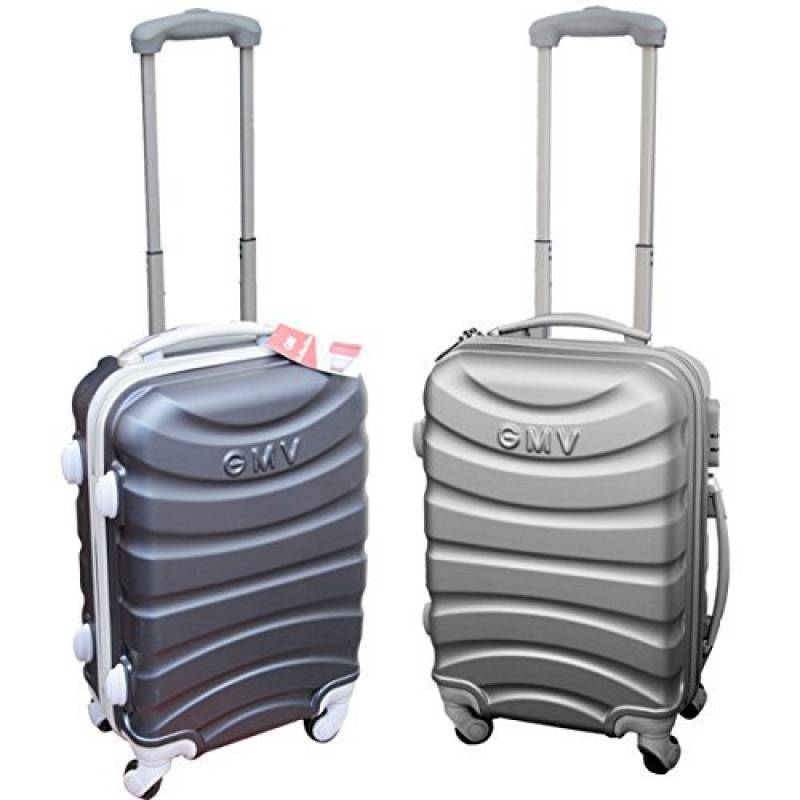 Chariot Cabine Valise Hand Dur Bagages Cabine Size GianMarcoVenturi 009/_ Argent