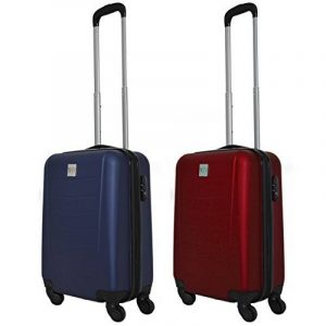 COUPLE CHARIOT CABINE VALISE HAND DUR BAGAGES GIANMARCO VENTURI CABINE SIZE LOW COST RYANAIR EASYJET TAILLE VALISE CABINE BAGAGES FMXD004D de la marque GIANMARCO VENTURI image 0 produit