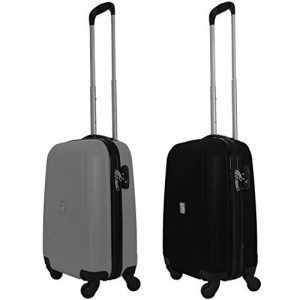 COUPLE CHARIOT CABINE VALISE HAND DUR BAGAGES GIANMARCO VENTURI CABINE SIZE LOW COST RYANAIR EASYJET TAILLE VALISE CABINE BAGAGES FMXD005D de la marque GIANMARCO VENTURI image 0 produit