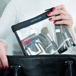 DEGELER Clear Bag - Trousse de toilette transparente à fermeture Éclair - idéale pour transport de liquides dans un bagage à main en avion/pour courts voyages de la marque DEGELER image 5 produit