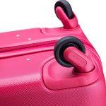 Delsey Bagage Cabine Helium Classic, 48 L, Rouge (Framboise) de la marque Delsey image 5 produit