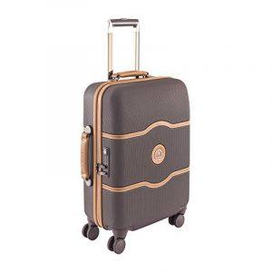 DELSEY PARIS Chatelet Hard + Bagage Cabine, 55 cm, 44 L, Chocolat de la marque Delsey image 0 produit