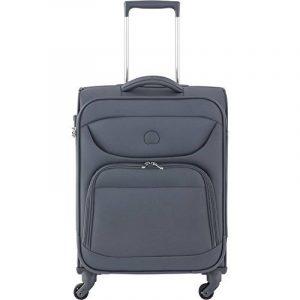 DELSEY PARIS Lazare Cabine Slim Bagage, 55 cm, 46 L, Anthracite de la marque Delsey image 0 produit