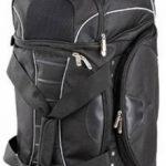 Dermata JumboSac de voyage à roulettes avec fonction sac à dos Grand volume: 96cm/145L Noir/gris de la marque Dermata image 4 produit