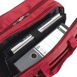 Dermata Mallette 2 roulettes Business 44,5 cm compartiment ordinateur portable de la marque Dermata image 3 produit
