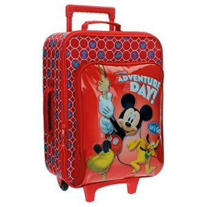 Disney Adventure Day Bagage Enfant, 46 cm, 33,12 L, Rouge