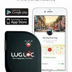 Dispositif de traçage LugLoc - Le localisateur intelligent et international de bagages perdus pour iOS et Android, pour que vous sachiez toujours où sont vos bagages. Non seulement Bluetooth like Tile / TrackR. Batterie rechargeable de 15 jours de la marq image 1 produit