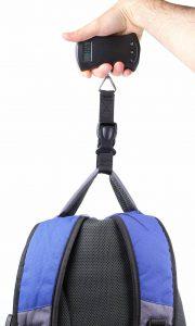 DURAGADGET Pèse-bagages pour peser vos valises / sacs jusqu'à 40kg - idéal pour les vacances - sangle de transport bonus et écran LCD de la marque Duragadget image 0 produit