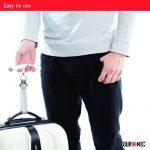 Duronic LS1008 /W Balance de voyage à sangles pour peser bagages et valises – affichage numérique - Capacité 50 kg de la marque Duronic image 4 produit