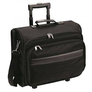 eBuyGB exécutif portable voyage cabine sac valise Trolley – avec pochette amovible en ordinateur portable (noir) de la marque eBuyGB image 0 produit