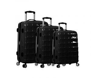 Ensemble de 3 valises 4 roues ultra légères en polycarbonate de la marque Snowball image 0 produit