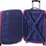 Ensemble de 3 valises 4 roues ultra légères en polycarbonate de la marque Snowball image 1 produit