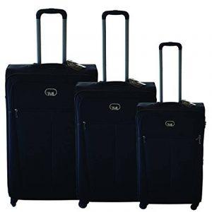 Ensemble de valises Bagage souple Roue à 4 roues Porte-bagages à main légère Carlingue de voyage 3/T de la marque GIANMARCO VENTURI image 0 produit