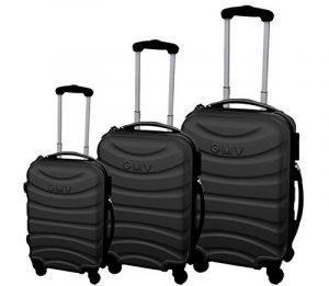 Ensemble de valises Hard Shell ABS 4 roues Spinner Bagage à main léger Cabine Travel Trolley 3/A de la marque GIANMARCO VENTURI image 0 produit
