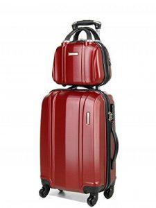 Ensemble valise 54 cm et vanity 29 cm MADISSON 60002 RED de la marque Madisson image 0 produit