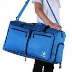 Estarer Sac de Voyage Pliable Sport Bag Bandoulière Grand Léger Nylon de la marque Estarer image 3 produit