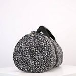 Even & Odd Weekender Sac de Sport en Toile pour Femme–Motif fleuri en noir & rose ou noir & blanc–petit sac de voyage–bagages à main Sac de la marque Even&Odd image 3 produit