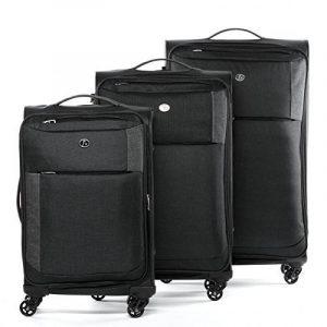 FERGÉ ensemble de valise douces souple (set de 3) Saint-Tropez - Valise à roulettes rigide et léger de la marque FERGÉ image 0 produit