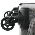 FERGÉ ensemble de valise douces souple (set de 3) Saint-Tropez - Valise à roulettes rigide et léger de la marque FERGÉ image 4 produit