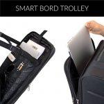 FERGÉ ensemble de valise douces souple (set de 3) Saint-Tropez - Valise à roulettes rigide et léger de la marque FERGÉ image 5 produit