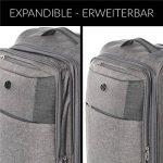 FERGÉ ensemble de valise douces souple (set de 3) Saint-Tropez - Valise à roulettes rigide et léger de la marque FERGÉ image 6 produit