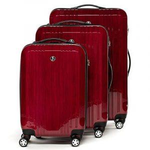FERGÉ ensemble de valise (set de 3) CANNES - Valise à roulettes en ABS & PC (DURE-FLEX) rigide et léger de la marque FERGÉ image 0 produit