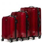 FERGÉ ensemble de valise (set de 3) CANNES - Valise à roulettes en ABS & PC (DURE-FLEX) rigide et léger de la marque FERGÉ image 1 produit