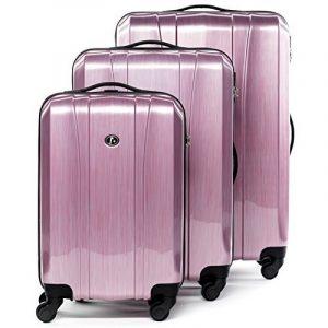 FERGÉ ensemble de valise (set de 3) Dijon - Valise à roulettes en ABS & PC (DURE-FLEX) rigide et léger de la marque FERGÉ image 0 produit
