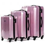 FERGÉ ensemble de valise (set de 3) Dijon - Valise à roulettes en ABS & PC (DURE-FLEX) rigide et léger de la marque FERGÉ image 1 produit