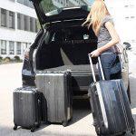 FERGÉ ensemble de valise (set de 3) Dijon - Valise à roulettes en ABS & PC (DURE-FLEX) rigide et léger de la marque FERGÉ image 4 produit