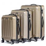 FERGÉ ensemble de valise (set de 3) LYON - Valise à roulettes en ABS - (DURE-FLEX) rigide et léger de la marque FERGÉ image 1 produit