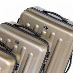 FERGÉ ensemble de valise (set de 3) LYON - Valise à roulettes en ABS - (DURE-FLEX) rigide et léger de la marque FERGÉ image 2 produit