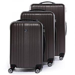 FERGÉ ensemble de valise (set de 3) TOULOUSE - Valise à roulettes en ABS - (DURE-FLEX) rigide et léger de la marque FERGÉ image 0 produit