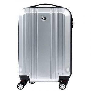 FERGÉ valise cabine CANNES - bagage de 20 pouces avec 4 roues 360° en ABS & PC (DURE-FLEX) rigide et léger de la marque FERGÉ image 0 produit