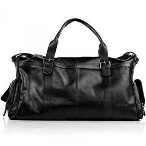FEYNSINN sac de voyage ASHTON - XL - besace weekend - sac de sport en cuir véritable de la marque Feynsinn image 0 produit