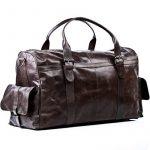 FEYNSINN sac de voyage ASHTON - XL - besace weekend - sac de sport en cuir véritable de la marque Feynsinn image 1 produit