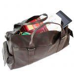 FEYNSINN sac de voyage ASHTON - XL - besace weekend - sac de sport en cuir véritable de la marque Feynsinn image 4 produit