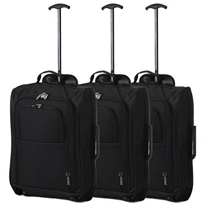 5 villes 55CM léger chariot bagage main sac de cabine