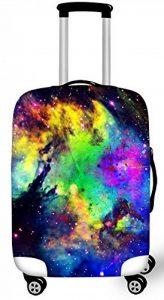 FOR U DESIGNS Nouveau 18-28 pouce housse de protection valises nouvelle beau nébuleuse housse bagage Spandex Voyager Valise Protecteur Couverture housse valise de la marque For U Designs image 0 produit